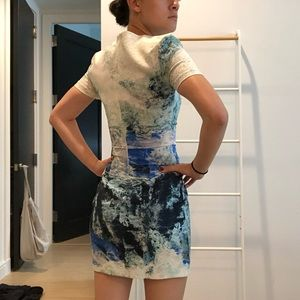 Bec & Bridge Dresses - BEC & BRIDGE T-Shirt Dress in Watercolor